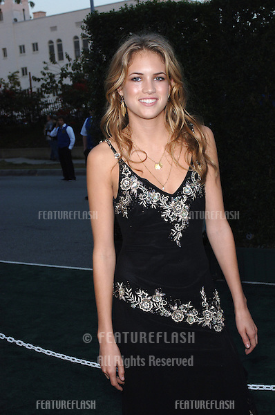 Model CODY HORN at the 15th Annual Environmental Media Awards in Los Angeles..October 19, 2005 Los Angeles, CA..© 2005 Paul Smith / Featureflash