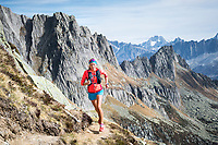 Trail running in the Salbit area of central Switzerland