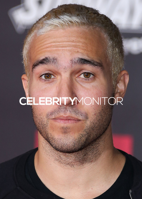HOLLYWOOD, LOS ANGELES, CA, USA - NOVEMBER 04: Pete Wentz arrives at the Los Angeles Premiere Of Disney's 'Big Hero 6' held at the El Capitan Theatre on November 4, 2014 in Hollywood, Los Angeles, California, United States. (Photo by Xavier Collin/Celebrity Monitor)