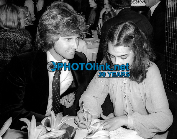 Parker Stevenson Brooke Shields 1978<br /> Photo By Adam Scull/PHOTOlink.net