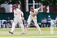 Jamie Porter in bowling action for Essex during Surrey CCC vs Essex CCC, Specsavers County Championship Division 1 Cricket at Guildford CC, The Sports Ground on 11th June 2017