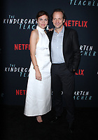 October 09, 2018  Maggie Gyllenhaal, Peter Sarsgaard attend Netflix's special screening of The Kindergarten Teacher at the Crosby Street Hotel in New York October 09, 2018 <br /> CAP/MPI/RW<br /> &copy;RW/MPI/Capital Pictures