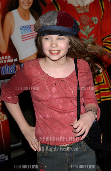 Actress DAVEIGH CHASE at the Los Angeles premiere of What A Girl Wants..March 27, 2003