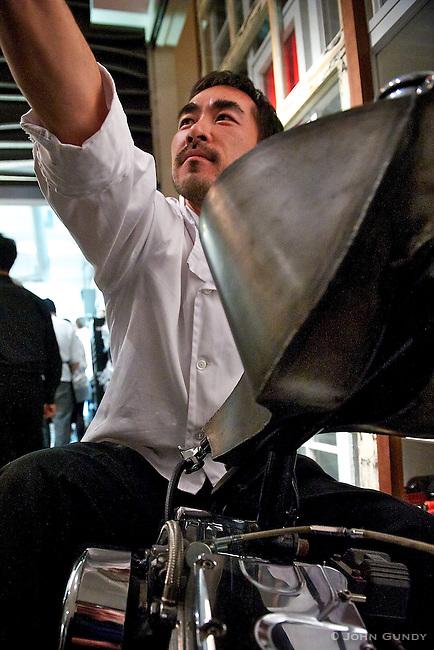 Chef Daisuke Izutsu, Kaiseki Sakura.