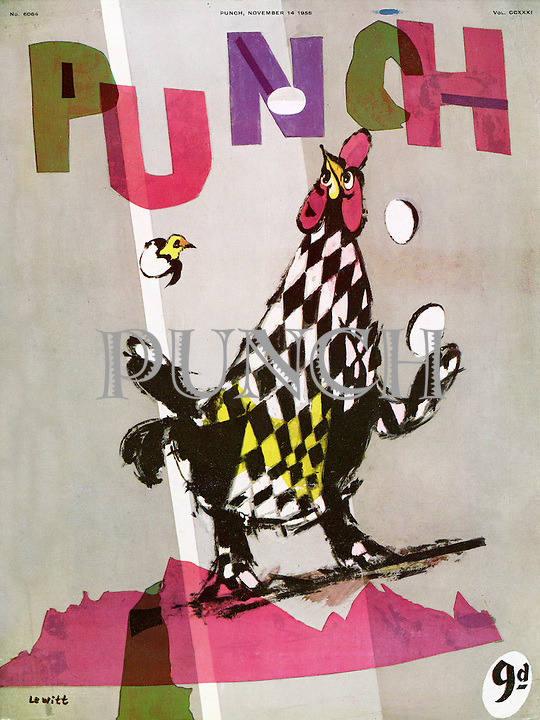 Punch cover 14 November 1956