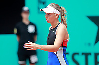 Caroline Wozniacki, Denmark, during Madrid Open Tennis 2018 match. May 7, 2018.(ALTERPHOTOS/Acero) /NortePhoto.com