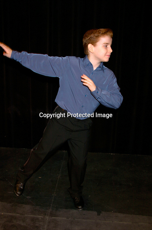 """Mitchell David Federan, Petey Cortland on All My Children singing and dancing..at the Musicals Tonight performance of """"A Celebration of ..Daytime Stars"""" on March 21, 2004 at the 14th Street Ymca. ..in New York City. ..Photo by Robin Platzer, Twin Images"""