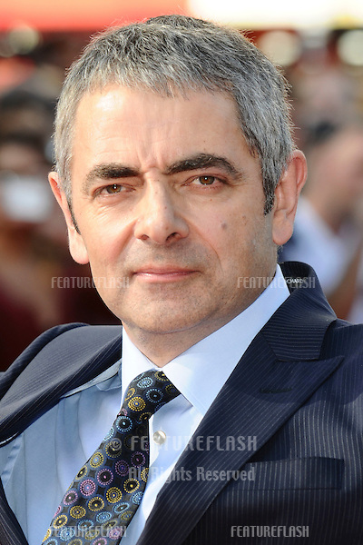"Rowan Atkinson arrives for the""Johnny English Re-Born"" premiere at the Empire Leicester Square, London. 02/09/2011 Picture by: Steve Vas / Featureflash"