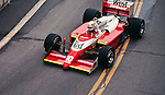 Christian Danner in the Zakspeed 871, Detroit 1987