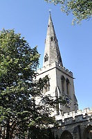 Bedford, UK - St Paul's Church -  A selection of views of the county town of Bedford, England - 15th September 2012..Photo by Keith Mayhew