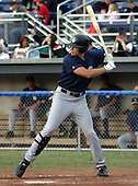 July 17, 2003:  Brad Snyder of the Mahoning Valley Scrappers, Class-A affiliate of the Cleveland Indians, during a NY-Penn League game at Dwyer Stadium in Batavia, NY.  Photo by:  Mike Janes/Four Seam Images