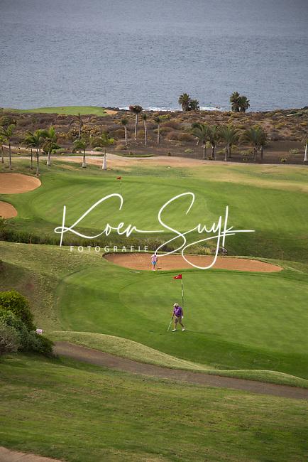 TENERIFE - BUENAVISTA Golf  hole 9 en 18.  COPYRIGHT KOEN SUYK