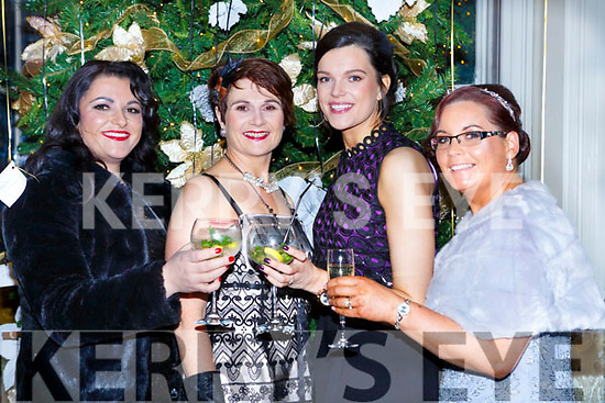 Kamile Lyne, Nuala doolan, Deayna Hurley and Joan Kennedy McGorrian at the Great Gatsby Gala in the Malton Hotel on Friday night