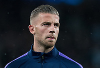 Toby Alderweireld of Spurs before the UEFA Champions League group match between Tottenham Hotspur and Bayern Munich at Wembley Stadium, London, England on 1 October 2019. Photo by Andy Rowland.