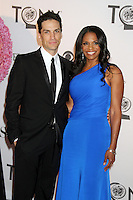 Will Swenson and Audra McDonald at the 66th Annual Tony Awards at The Beacon Theatre on June 10, 2012 in New York City. Credit: RW/MediaPunch Inc. NORTEPHOTO.COM