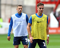 Preston North End's Josh Harrop during the pre-match warm-up <br /> <br /> Photographer David Shipman/CameraSport<br /> <br /> The EFL Sky Bet Championship - Nottingham Forest v Preston North End - Saturday 31st August 2019 - The City Ground - Nottingham<br /> <br /> World Copyright © 2019 CameraSport. All rights reserved. 43 Linden Ave. Countesthorpe. Leicester. England. LE8 5PG - Tel: +44 (0) 116 277 4147 - admin@camerasport.com - www.camerasport.com