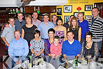 Robert McCormack Tullig, Killorglin seated second from right celebrates his 40th birthday with his family and friends in Nick's restaurant Killorglin on Saturday night.