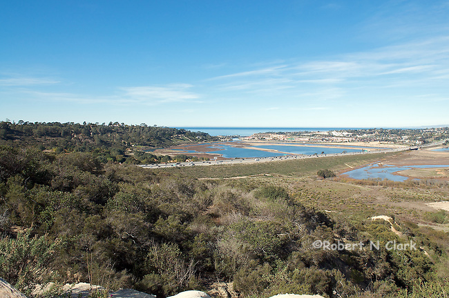 San Dieguito River Valley between Del Mar and Solana Beach, Wetlands restoration area