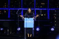 NEW YORK, NY, 12.12.2016 - ONU-UNICEF -   A atriz indiana Priyanka Chopra durante evento de 70º aniversário da UNICEF (Fundo das Nações Unidas para a Infância) na sede da Nações Unidas em New York os Estados Unidos nesta segunda-feira, 12. (Foto: Vanessa Carvalho/Brazil Photo Press)