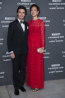 """Giada Tronchetti Provera and her husband Carlo Noseda attend the gala night for official presentation of the Presentation of the Pirelli Calendar 2019 """"The cal"""" held at the Hangar Bicocca. Milan (Italy) on december 5, 2018. Credit: Action Press/MediaPunch ***FOR USA ONLY***"""