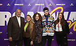 Broadway founders Stewart F. Lane and  Bonnie Comley with Ellie Heyman, Max Vernon and Leah Lane during a panel for BroadwayHD and the future of capturing stage performances for New Musicals at New York Hilton Midtown on January 13, 2019 in New York City.