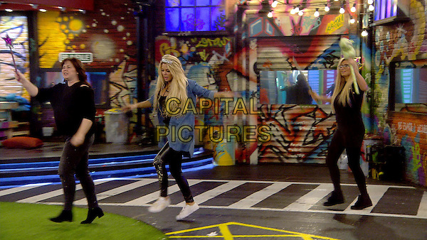 Celebrity Big Brother 2017<br /> Coleen Nolan, Bianca Gascoigne, Nicola McLean  <br /> *Editorial Use Only*<br /> CAP/KFS<br /> Image supplied by Capital Pictures