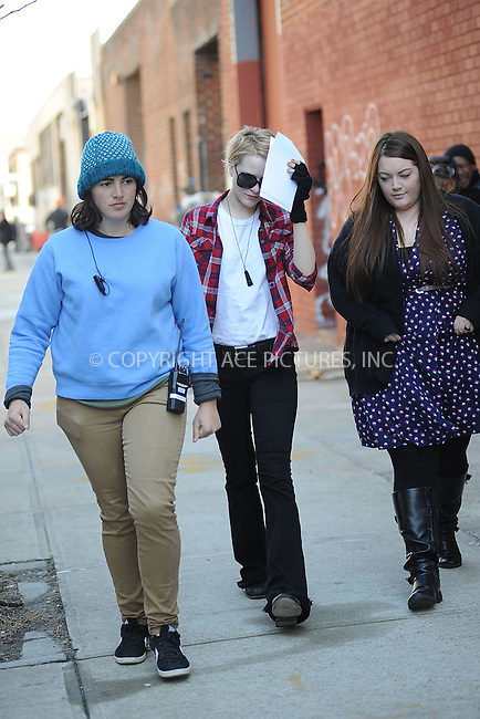 WWW.ACEPIXS.COM . . . . . .February 18, 2012...New York City.... Evan Rachel Wood on the set of A Case Of You in Brooklyn on February 18, 2012  in New York City ....Please byline: KRISTIN CALLAHAN - ACEPIXS.COM.. . . . . . ..Ace Pictures, Inc: ..tel: (212) 243 8787 or (646) 769 0430..e-mail: info@acepixs.com..web: http://www.acepixs.com .