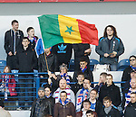 Senagalese Flag at Ibrox for El Hadji Diouf