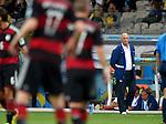 Luiz Felipe Scolari (BRA),<br /> JULY 8, 2014 - Football / Soccer : FIFA World Cup 2014 semi-finals match between Brazil 1-7 Germany at Mineirao stadium in Belo Horizonte, Brazil.<br /> (Photo by FAR EAST PRESS/AFLO)