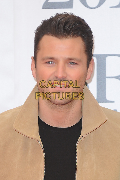 LONDON, ENGLAND - FEBRUARY 24: Mark Wright attends the Brit Awards 2016 at The O2 Arena in London on February 24, 2016 in London, England.<br /> CAP/BEL<br /> &copy;Tom Belcher/Capital Pictures