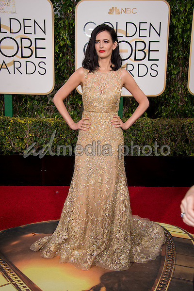 "Nominated for BEST PERFORMANCE BY AN ACTRESS IN A TELEVISION SERIES – DRAMA for her role in ""Penny Dreadful,"" actress Eva Green attends the 73rd Annual Golden Globes Awards at the Beverly Hilton in Beverly Hills, CA on Sunday, January 10, 2016. Photo Credit: HFPA/AdMedia"
