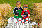 Chloe O''Brien and Tadgh 'Wolverine' O'Shea enjoying the NA GAEIL GAA, family fun day on Sunday