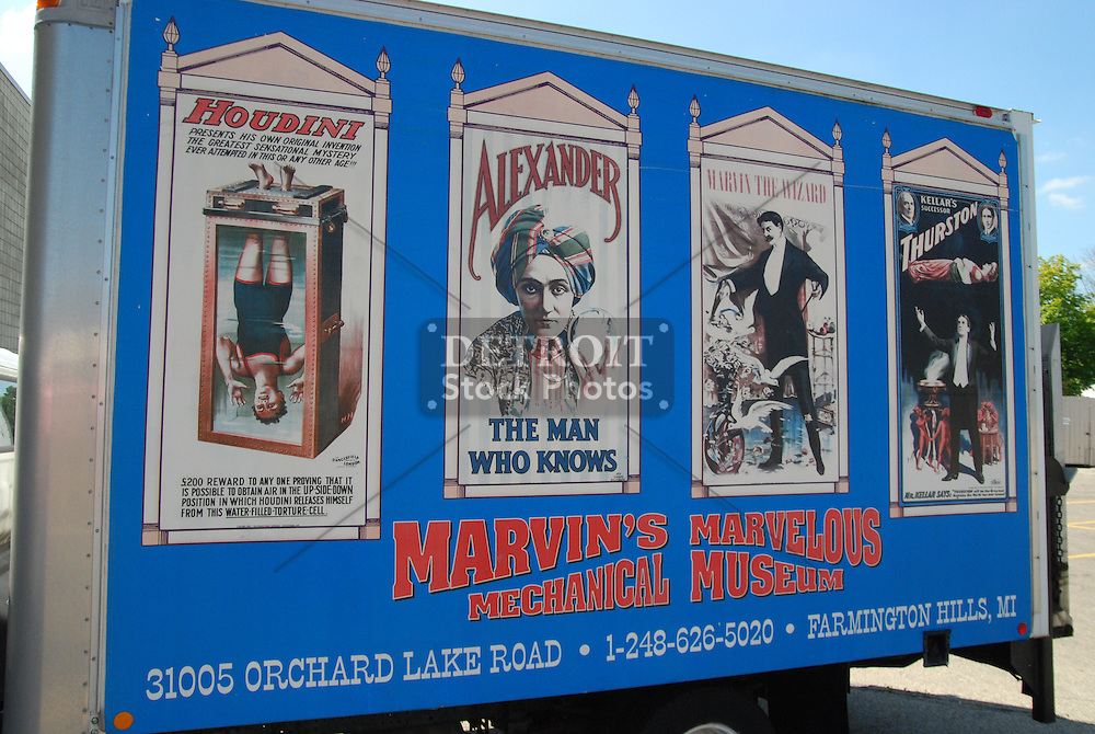 Marvin's Marvelous Mechanical Museum   Detroit Stock Photos