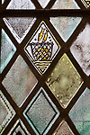 Church of Saint Andrew, Little Glemham, detail of stained glass window by Margaret Edith Aldrich Rope 1929