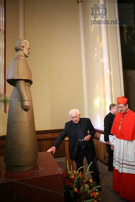 Mass dedicating Statue of Fr. Moreau in the Basilica of the Sacred Heart