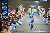 winner: Zdenek Stybar (CZE)<br /> <br /> 2014 UCI cyclo-cross World Championships, EliteMen