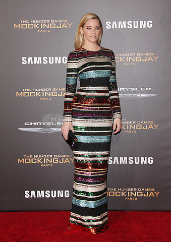"Los Angeles, CA - November 16  Elizabeth Banks Attending Premiere Of Lionsgate's ""The Hunger Games: Mockingjay - Part 2"" At Microsoft Theater On November 16, 2015. Photo Credit: Faye Sadou / MediaPunch"