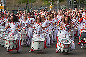 Notting Hill Carnival 2009 - Batala Drummers (Photo: Bettina Strenske)