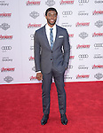 "Chadwick Boseman attends The World Premiere of Marvel's ""Avengers"" Age of Ultron,"" held at The Dolby Theatre in Hollywood, California on April 13,2015                                                                               © 2014 Hollywood Press Agency"