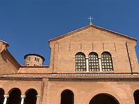 Exterior of Basilica di S.Apollinare in Ravenna Ital