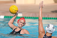 17 February 2008: Stanford Cardinal Allie Gerrity during Stanford's 10-5 win against the UC Davis Aggies at Maples Pavilion in Stanford, CA.