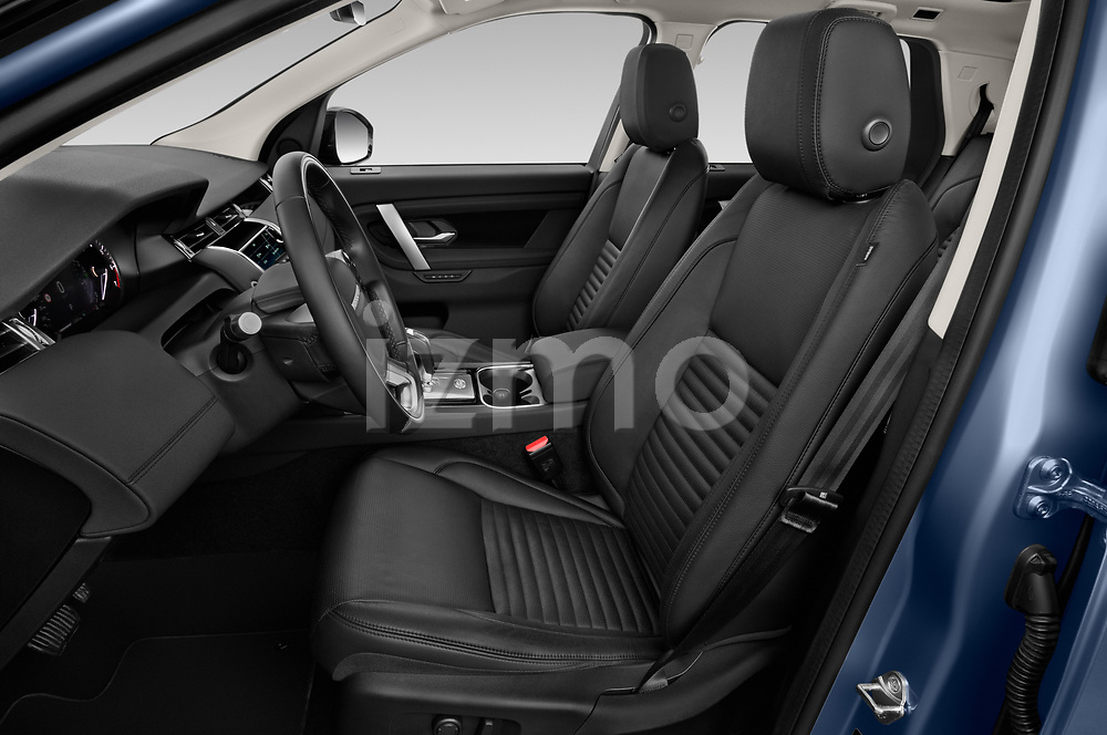 Front seat view of a 2020 Land Rover Discovery Sport S 5 Door SUV front seat car photos