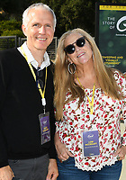 LOS ANGELES - JUNE 2: James Younger and Lori McCreary attend National Geographic's Contenders Showcase, at The Greek Theatre, a one-of-a-kind outdoor experience and concert celebrating the talent behind the scenes of National Geographic 2019 Emmy contenders, on June 2, 2019 in Los Angeles, California. (Photo by Vince Bucci/National Geographic/PictureGroup)