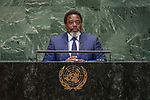 DSG meeting<br /> <br /> AM Plenary General DebateHis<br /> <br /> His Excellency Joseph KABILA KABANGE President of the Democratic Republic of the Congo