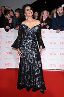 Wilnelia Forsythe<br /> arriving for the National Television Awards 2018 at the O2 Arena, Greenwich, London<br /> <br /> <br /> ©Ash Knotek  D3371  23/01/2018