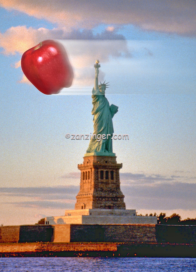 Statue of Liberty, Big Apple, Speed and Motion, Relative Motion, Speed, Velocity and Acceleration