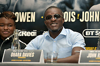 Ohara Davies during a Press Conference at the Landmark London Hotel on 2nd August 2018