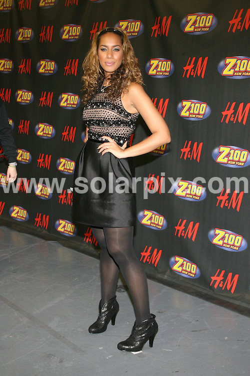 **ALL ROUND PICTURES FROM SOLARPIX.COM**.**SYNDICATION RIGHTS FOR UK, SPAIN, PORTUGAL, AUSTRALIA, S.AFRICA & DUBAI (U.A.E) ONLY**.Inside the press room at Z100's Jingle Ball 2008, held at Madison Square Garden, 4 Penn Plaza, 34th Street, New York City, NY, USA. 12th December 2008...This pic: Leona Lewis..JOB REF: 8156 PHZ (Gaboury)  DATE: 12_12_2008.**MUST CREDIT SOLARPIX.COM OR DOUBLE FEE WILL BE CHARGED* *UNDER NO CIRCUMSTANCES IS THIS IMAGE TO BE REPRODUCED FOR ANY ONLINE EDITION WITHOUT PRIOR PERMISSION*