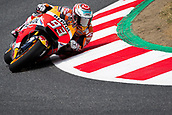 June 9th 2017, Circuit de Catalunya, Barcelona, Spain; Catalunya MotoGP; Friday Practice Session; Marc Marquez of Repsol Honda Team rides during free practice