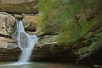 Cedar Falls Close-up, Hocking Hills